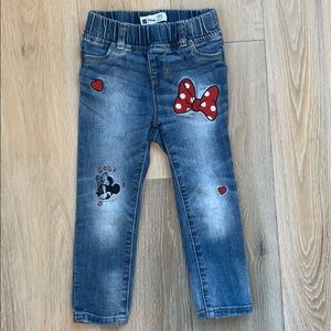 Gap toddler girls Disney jeans